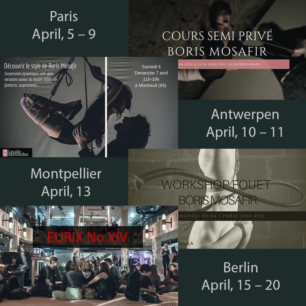 Mosafir Europe tour