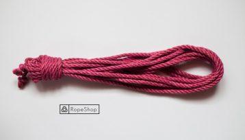 красная веревка для шибари