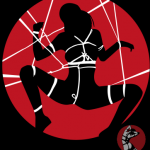 арт шибари принт логотип