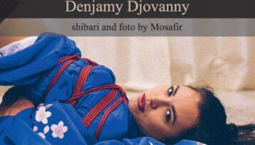 Captured Beauty: Denjamy Djovanny. Shibari and photo by Mosafir