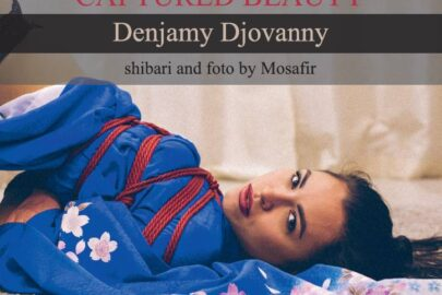 Captured Beauty: Denjamy Djovanny. Shibari and photo by Mosafir